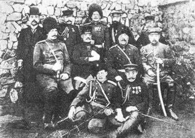 在中国土地上进行的日俄战争结束
