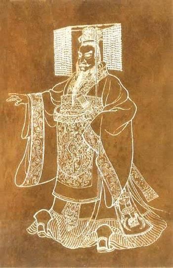 中国历史上首位皇帝秦始皇嬴政逝世