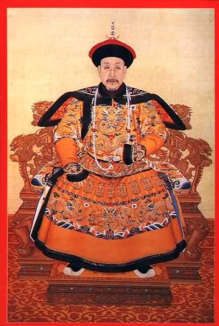 乾隆帝(清高宗)爱新觉罗·弘历出生