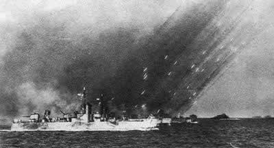 1945年4月1日 美军登陆日本冲绳岛
