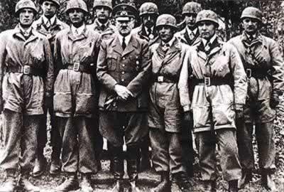 1940年5月希特勒-1945年4月30日 战争狂人希特勒在柏林自杀