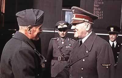 1940年希特勒-1945年4月30日 战争狂人希特勒在柏林自杀