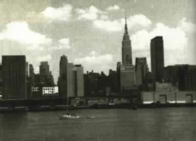 世界上最高的建筑纽约帝国大厦剪彩